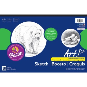 UCreate Medium Weight Sketch Pads