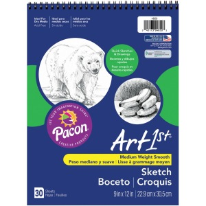 UCreate Medium Weight Acid Free Sketch Books