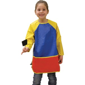 Creativity Street Vinyl Long-Sleeve Art Apron