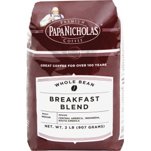 PapaNicholas Breakfast Blend Coffee