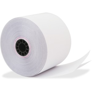 "Recycled Receipt Roll, 2 1/4"" x 90 ft, White"