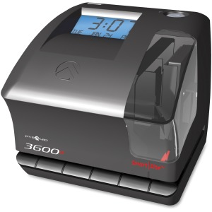 Pyramid Time Systems 3600SS Time Clock and Document Stamp