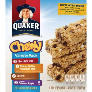 Quaker Oats Chewy Granola Bars Variety Pack
