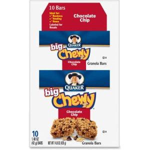 Quaker Oats Chocolate Chip Big Chewy Granola Bar