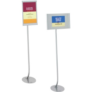 Quartet Designer Freestanding Sign Stand