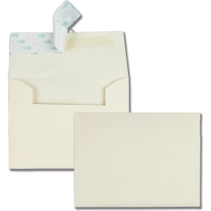 Quality Park Ivory Greeting Card/Invite Envelopes