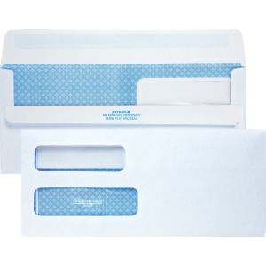 Quality Park Double Window Redi-Seal Envelopes