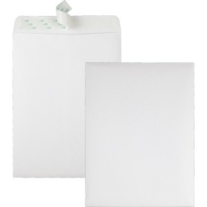 Quality Park Redi-Strip Plain Catalog Envelopes