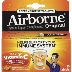 Airborne Zesty Orange Tablets