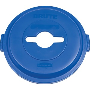 Rubbermaid Commercial Brute Hvy-Duty Recycling Container Lid