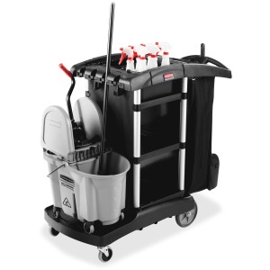 Rubbermaid Commercial High Capacity Executive Cleaning Cart