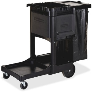 Rubbermaid Commercial Executive Janitor Cleaning Cart