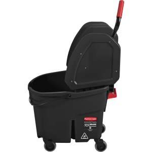 Rubbermaid Commercial WaveBrake Down Press Mop Bucket