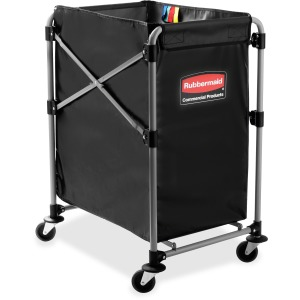 Rubbermaid Commercial 4-Bushel Collapsible X-Cart