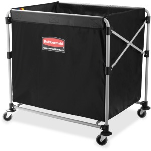 Rubbermaid Commercial 8-Bushel Collapsible X-Cart