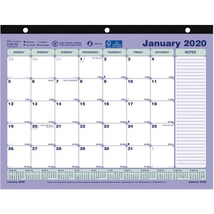 Brownline Mini Monthly Desk Pad