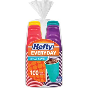 Hefty Everyday 16 oz Disposable Party Cups