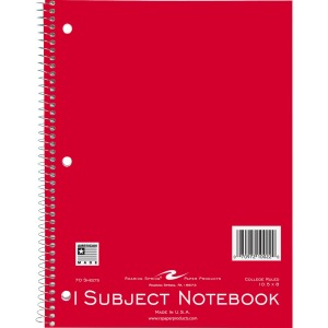Roaring Spring 1-subject Spiral Notebook
