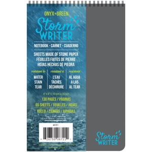 "Roaring Spring Storm Writer 4""x6"" Notebook"