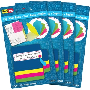 Redi-Tag Tabbed Divider Notes
