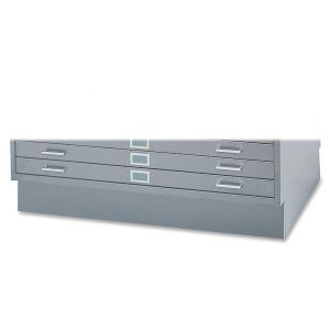 "Safco 6"" High Base for 5-Drawer Steel Flat File"