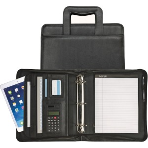 Samsill Sterling Zipper Binder Portfolio