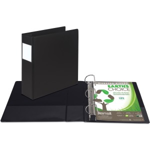 Samsill Earth's Choice Label Holder D-ring Binder