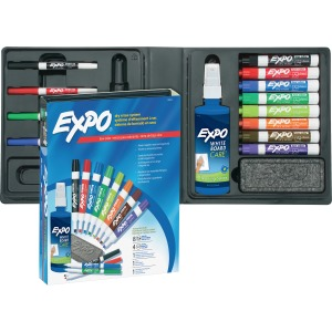 Expo Low-Odor Dry-erase Marker Kit