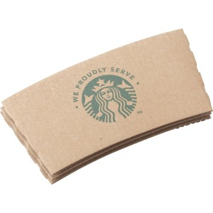 Starbucks WE PROUDLY SERVE Hot Cup Sleeves