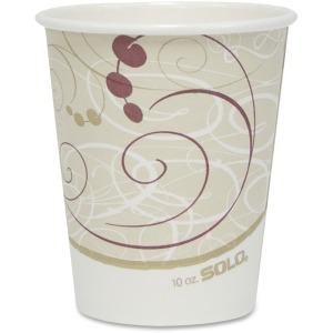 Solo Cup Poly Lined Hot Paper Cups