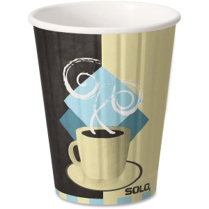 Solo Insulated Paper Hot Cups