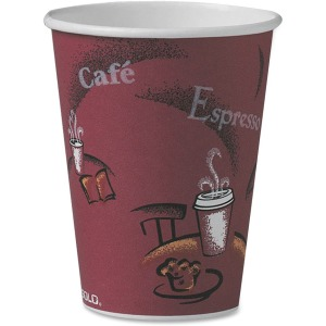 Solo Single Sided Paper Hot Cups