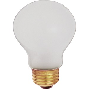 Satco 60A19 Safety Coated Incandescent Bulb
