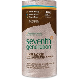 Seventh Generation Recycled Natural Brown Paper Towels
