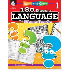 Shell Education Education 18 Days/Language 1st-grade Book Printed Book by Christine Dugan