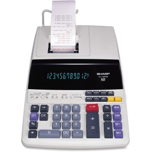 Sharp EL-1197PIII 12 Digit Commercial Printing Calculator