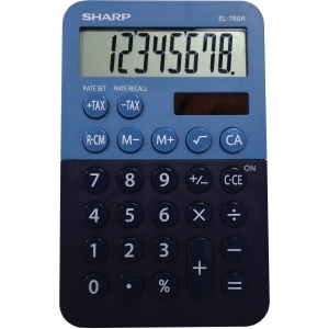 Sharp EL-760RBBL Desktop Calculator