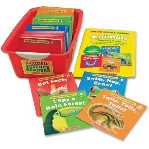 Scholastic Res. PreK Science Reader Animals Book Set Printed Book by Liza Charlesworth
