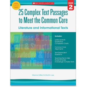 Scholastic Res. Grade 2 Complex Texts CC Workbook Printed Book by Martin Lee, Marcia Miller