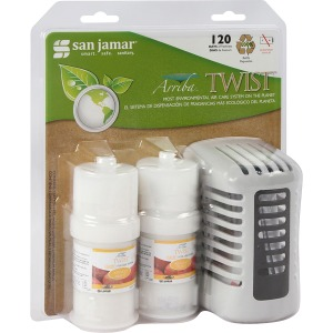 San Jamar Twist Air Care Freshener
