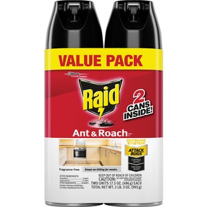 Raid Ant & Roach Killer 2-Packs - Fragrance-Free