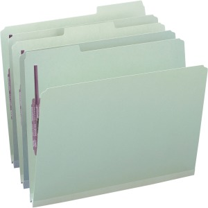 Smead Pressboard Fastener Folders with SafeSHIELD® Coated Fastener Technology