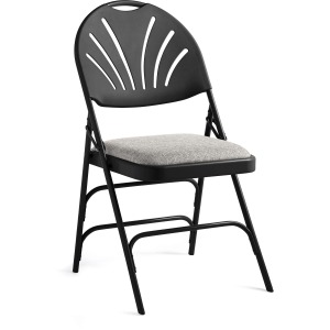 Samsonite Fanback Steel & Fabric Folding Chair (Case/4)
