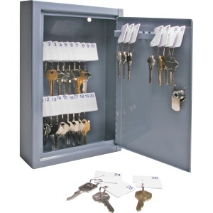 Sparco All-Steel Slot-Style 30-Key Cabinet