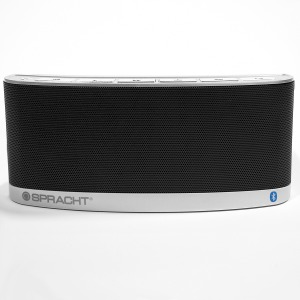 Spracht Blunote2.0 Speaker System - 10 W RMS - Wireless Speaker(s) - Portable - Battery Rechargeable - Black
