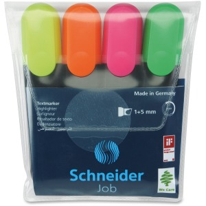 Schneider StrideTextmarker Highlighter 4-color Pack
