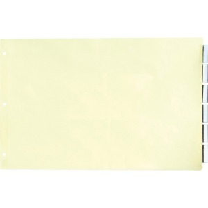 Stride Insertable 5-Tab Index Dividers