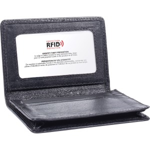 Swiss Mobility Carrying Case Business Card, License - Black