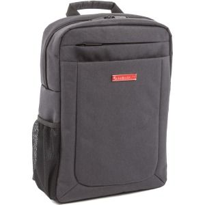 "Swiss Mobility Carrying Case (Backpack) for 15.6"" Notebook - Charcoal Gray"