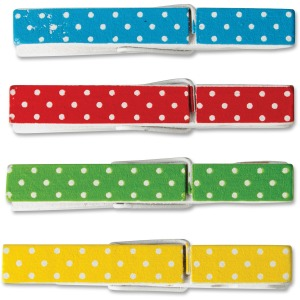 Teacher Created Resources Polka Dots Clothespins